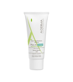 A-DERMA Phys-AC Global Soin Imperfections Severes 40ml