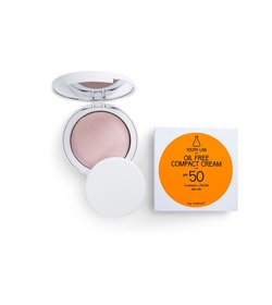 YOUTH LAB Oil Free Compact Cream Combination Oily Skin Light Colour SPF50 10gr