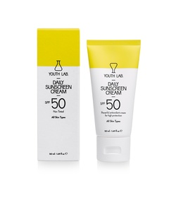 YOUTH LAB Daily Sunscreen Cream SPF 50 - Non Tinted 50ml