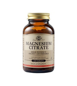 SOLGAR Magnesium Citrate 200mg 120 ταμπλέτες