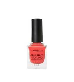 KORRES Gel Effect Nail Colour 43 Peach Sorbet