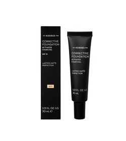 KORRES Activated Charcoal Corrective Foundation ACF1 30ml