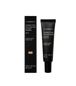 KORRES Activated Charcoal Corrective Foundation ACF3 30ml